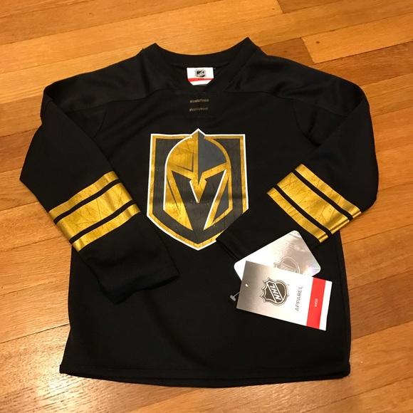 best sneakers 558de d7978 Las Vegas Knights jersey. Boys' size 5/6. NWT